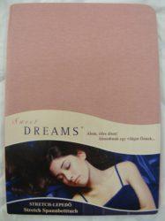 Sweet Dreams jersey gumis lepedő altrosa 140/160x200 cm