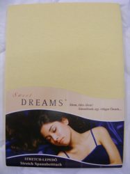 Sweet Dreams jersey gumis lepedő sonne 90/100x200 cm