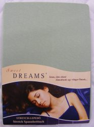 Sweet Dreams jersey gumis lepedő lind 140/160x200 cm