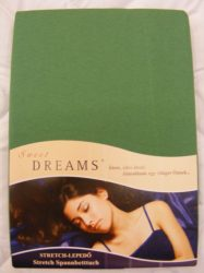 Sweet Dreams jersey gumis lepedő moos 180/200x200 cm