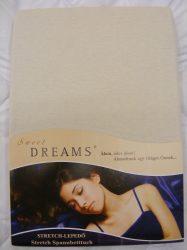 Sweet Dreams jersey gumis lepedő leinen 90/100x200 cm