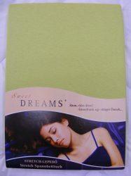 Sweet Dreams jersey gumis lepedő apfel 90/100x200 cm