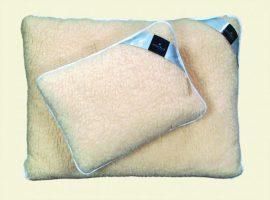 Billerbeck DORIS szőrme gyapjú párna, 50x70 cm középpárna