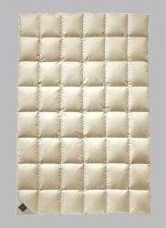 Billerbeck ANDERSEN pehelypaplan, 135/140x200 cm, Exkluzív 100% pehely töltetű paplan selyem huzattal
