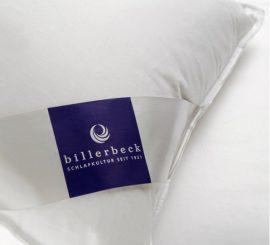 Billerbeck AMANDA pehely párna (90% pehely), 40x80 cm,  félpárna