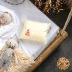 Prána Prémium TÖNKÖLYPÁRNA, gyerek párna, pamut huzatban, 25x30 cm