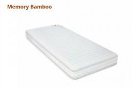 Best Dream MEMORY BAMBOO vákuum matrac, 90 × 200 cm, félkemény memóriahabos matrac